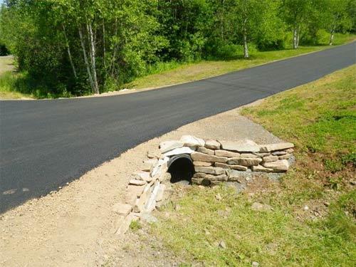 Culverts, stonework, colchester, Truro Nova Scotia