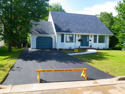Driveway paving in Truro, Colchester County, NS
