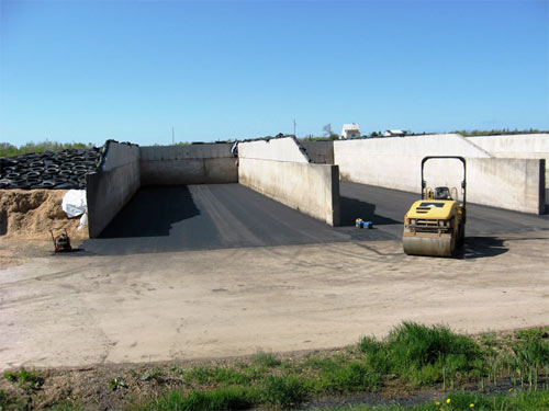 Silage Pad Paving